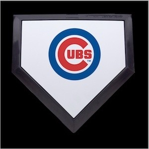 Chicago Cubs Authentic Mini Home Plate