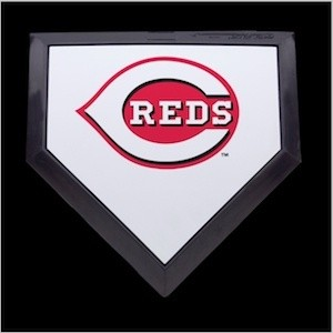 Cincinnati Reds Authentic Mini Home Plate