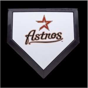 Houston Astros Authentic Mini Home Plate