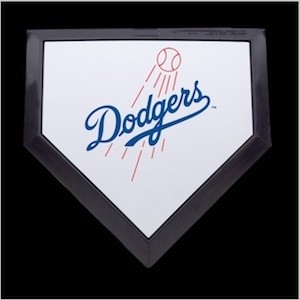 Los Angeles Dodgers Authentic Mini Home Plate