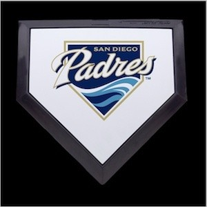 San Diego Padres Authentic Mini Home Plate
