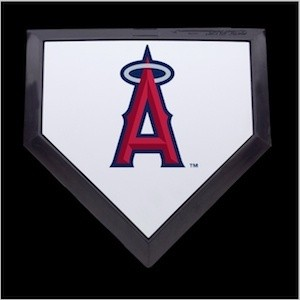 Los Angeles Angels of Anaheim Authentic Mini Home Plate