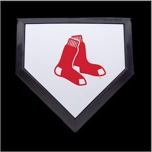 Boston Red Sox Authentic Mini Home Plate