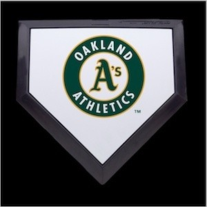 Oakland Athletics Authentic Mini Home Plate