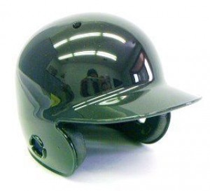 Black Blank Customizable Authentic Mini Batting Helmet Shell
