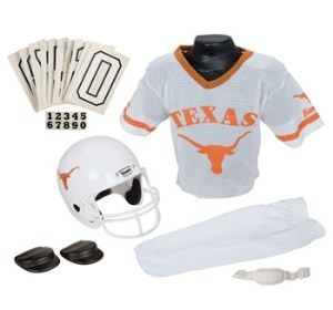 Texas Longhorns Kids (Ages 7-9) Medium Replica Deluxe Uniform Set