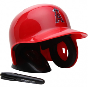 Rawlings MLB Los Angeles Angels Replica Mini Batting Helmet