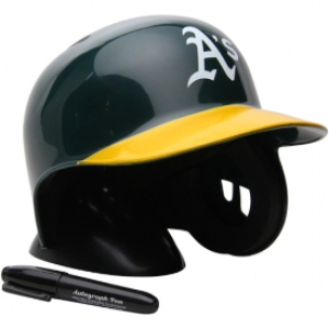 Rawlings MLB Oakland Athletics Replica Mini Batting Helmet