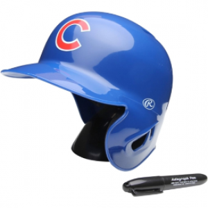 Rawlings MLB Chicago Cubs Replica Mini Batting Helmet