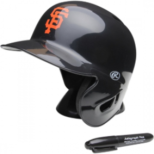 Rawlings MLB San Francisco Giants Replica Mini Batting Helmet