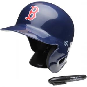 Rawlings MLB Boston Red Sox Replica Mini Batting Helmet