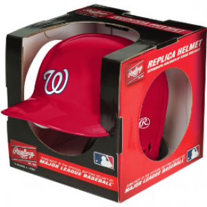 Rawlings MLB Washington Nationals Replica Mini Batting Helmet