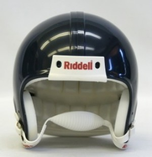 Navy Blank Customizable Replica Mini Helmet Shell