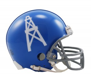 Houston Oilers 1960-1962 Throwback Replica Mini Helmet
