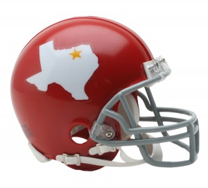 Dallas Texans 1960-1962 Throwback Replica Mini Helmet
