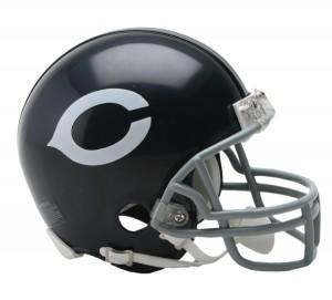 Chicago Bears 1962-1973 Throwback Replica Mini Helmet