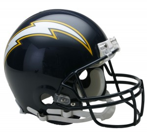 San Diego Chargers 1988-2006 Throwback Authentic Full Size Helmet