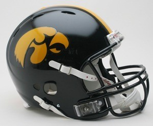 Iowa Hawkeyes Authentic Revolution Full Size Helmet