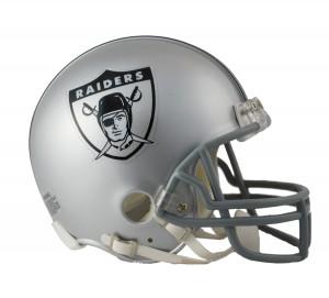 Los Angeles Raiders 1963 Throwback Replica Mini Helmet
