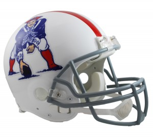 New England Patriots 1961-1964 Throwback Authentic Full Size Helmet