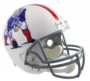 New England Patriots 1961-1964 Throwback Replica Full Size Helmet