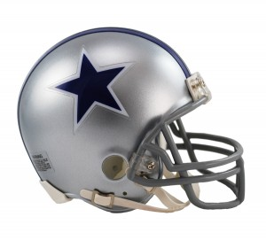 Dallas Cowboys 1964-1966 Throwback Replica Mini Helmet