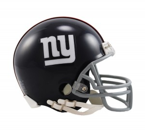 New York Giants 1961-1974 Throwback Replica Mini Helmet