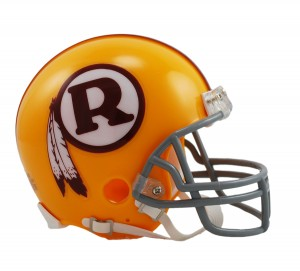 Washington Redskins 1970-1971 Throwback Replica Mini Helmet