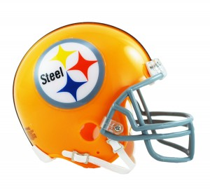 Pittsburgh Steelers 1962 Throwback Replica Mini Helmet