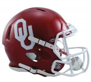 Oklahoma Sooners Authentic Revolution Speed Full Size Helmet