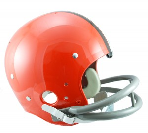 Cleveland Browns 1962-1974 Throwback Replica TK Susp Full Size Helmet