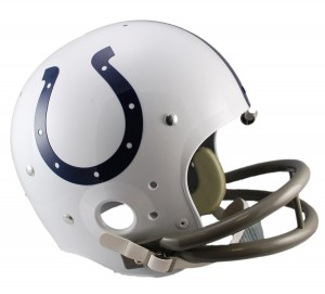 Baltimore Colts 1957-1977 Throwback Replica TK Susp Full Size Helmet