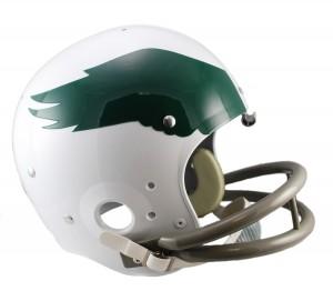 Riddell NFL Philadelphia Eagles 1969-1973 Throwback Rep TK Suspension Full Size Football Helmet