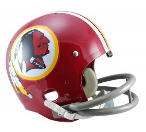 Washington Redskins 1972-1977 Throwback Rep TK Susp Full Size Helmet
