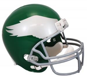 Riddell NFL Philadelphia Eagles 1959-1969 Throwback Authentic Vsr4 Full Size Football Helmet