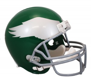 Riddell NFL Philadelphia Eagles 1959-1969 Throwback Replica Vsr4 Full Size Football Helmet