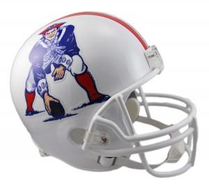 New England Patriots 1982-1989 Throwback Replica Full Size Helmet