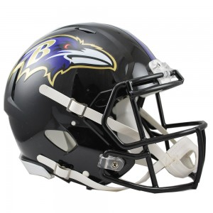 Baltimore Ravens Authentic Revolution Speed Full Size Helmet