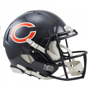 Chicago Bears Authentic Revolution Speed Full Size Helmet