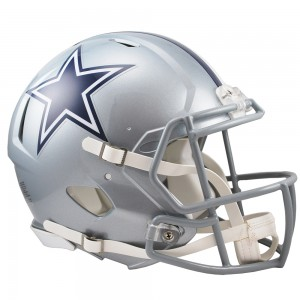 Dallas Cowboys Authentic Revolution Speed Full Size Helmet
