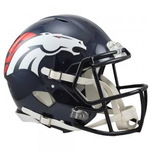 Riddell NFL Denver Broncos Authentic Speed Full Size Football Helmet