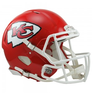 Kansas City Chiefs Authentic Revolution Speed Full Size Helmet
