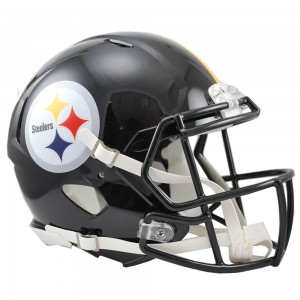 Riddell NFL Pittsburgh Steelers Authentic Speed Full Size Football Helmet
