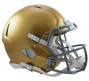 Notre Dame Fighting Irish Authentic Revolution Speed Full Size Helmet