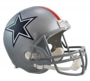 Dallas Cowboys 1976 Throwback Replica Full Size Helmet
