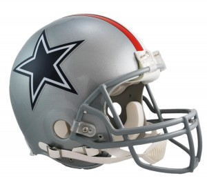Dallas Cowboys 1976 Throwback Authentic Full Size Helmet