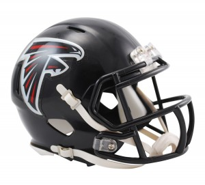 Atlanta Falcons Revolution Speed Mini Helmet