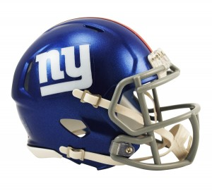 New York Giants Revolution Speed Mini Helmet