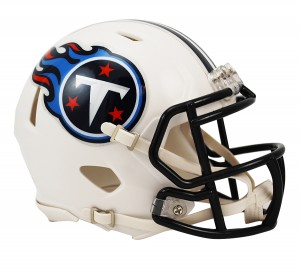 Riddell NFL Tennessee Titans 1999-2017 Throwback Speed Mini Football Helmet