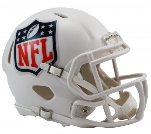 NFL Shield Revolution Speed Mini Helmet